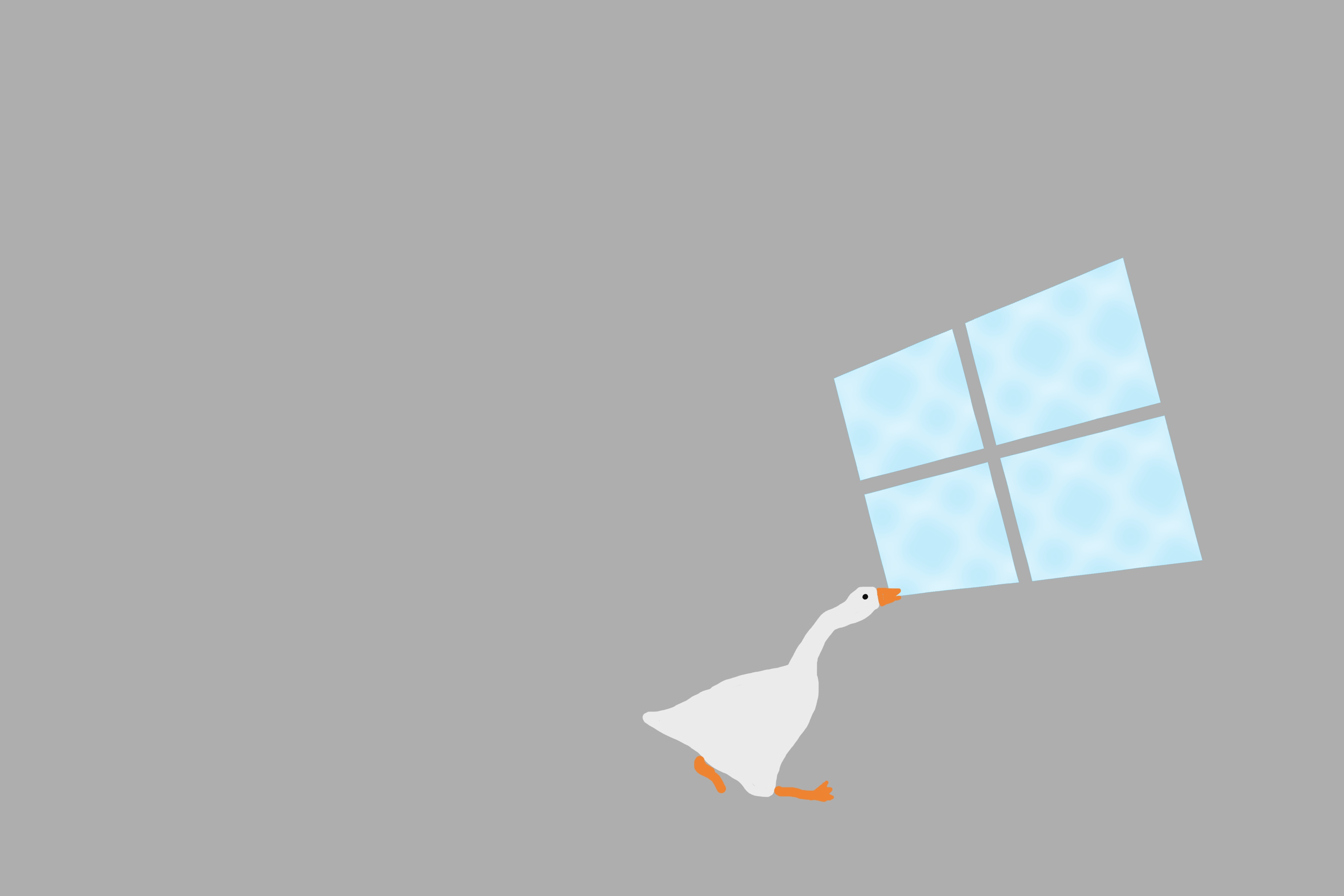 Untitled Goose Wallpaper hd background