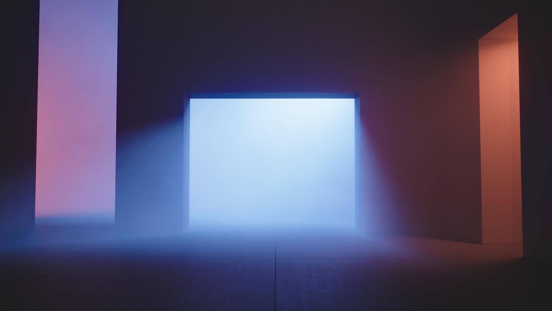 Blue Light 1920x1080 wallpaper
