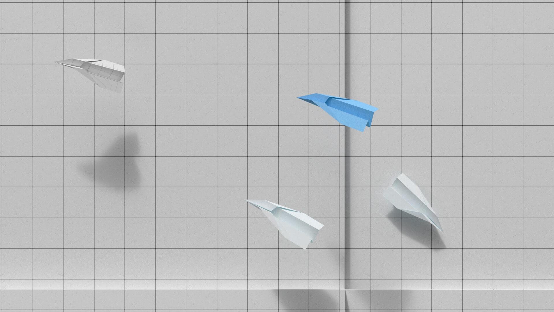 Paper Planes cool wallpaper