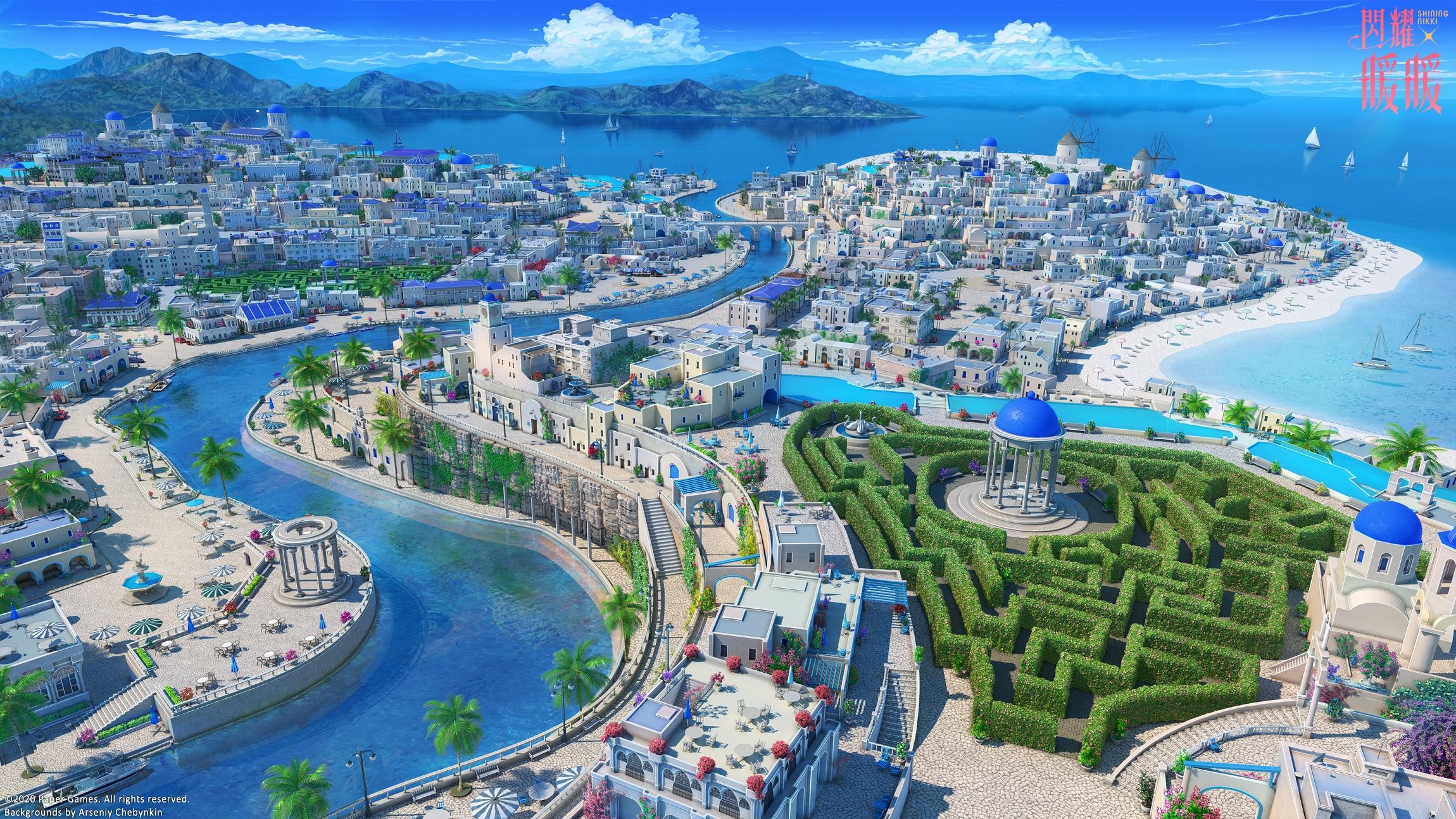 Anime City free image