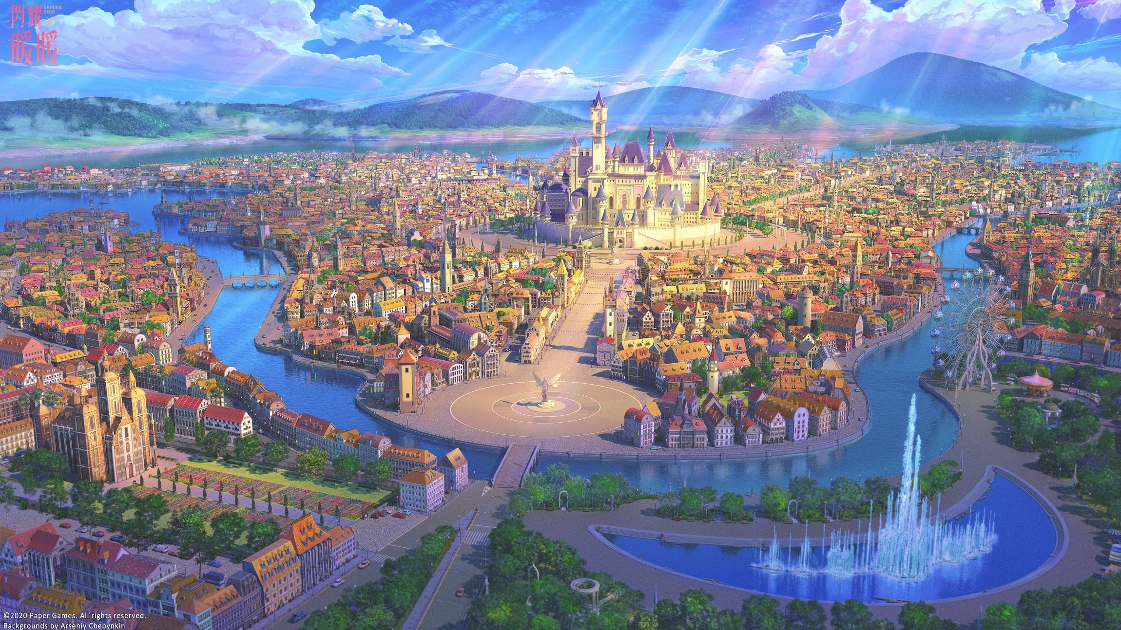 Anime City free pic