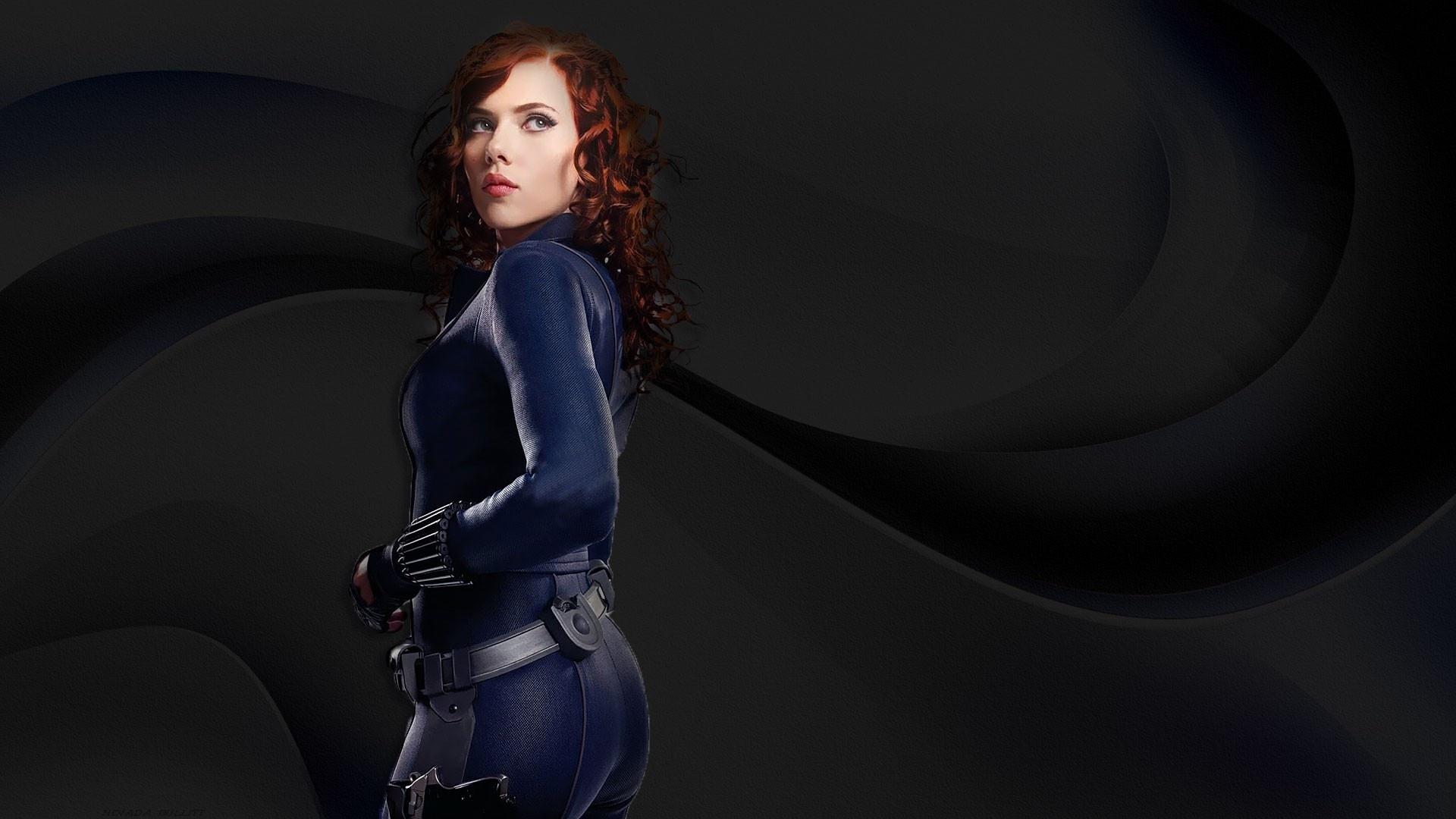 Black Widow windows background