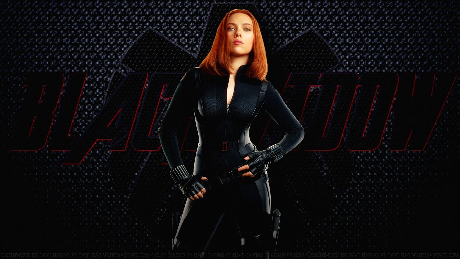 Black Widow cool background