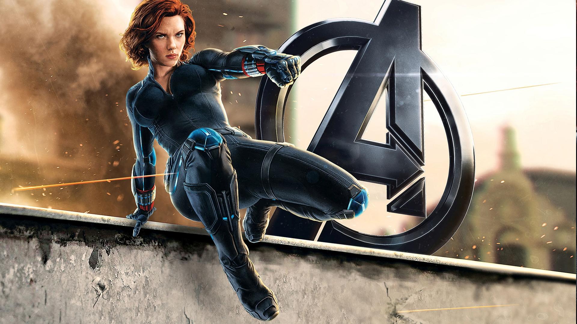 Black Widow desktop wallpaper free download