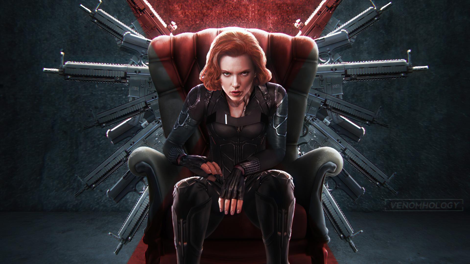 Black Widow pc wallpaper