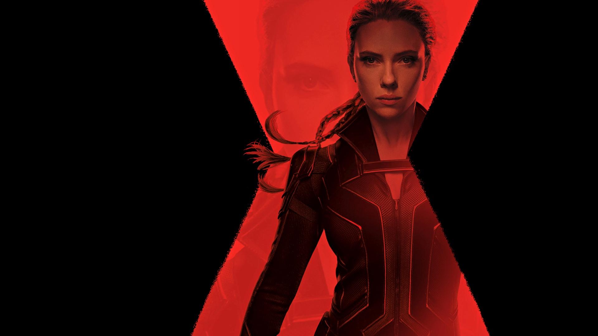 Black Widow desktop background