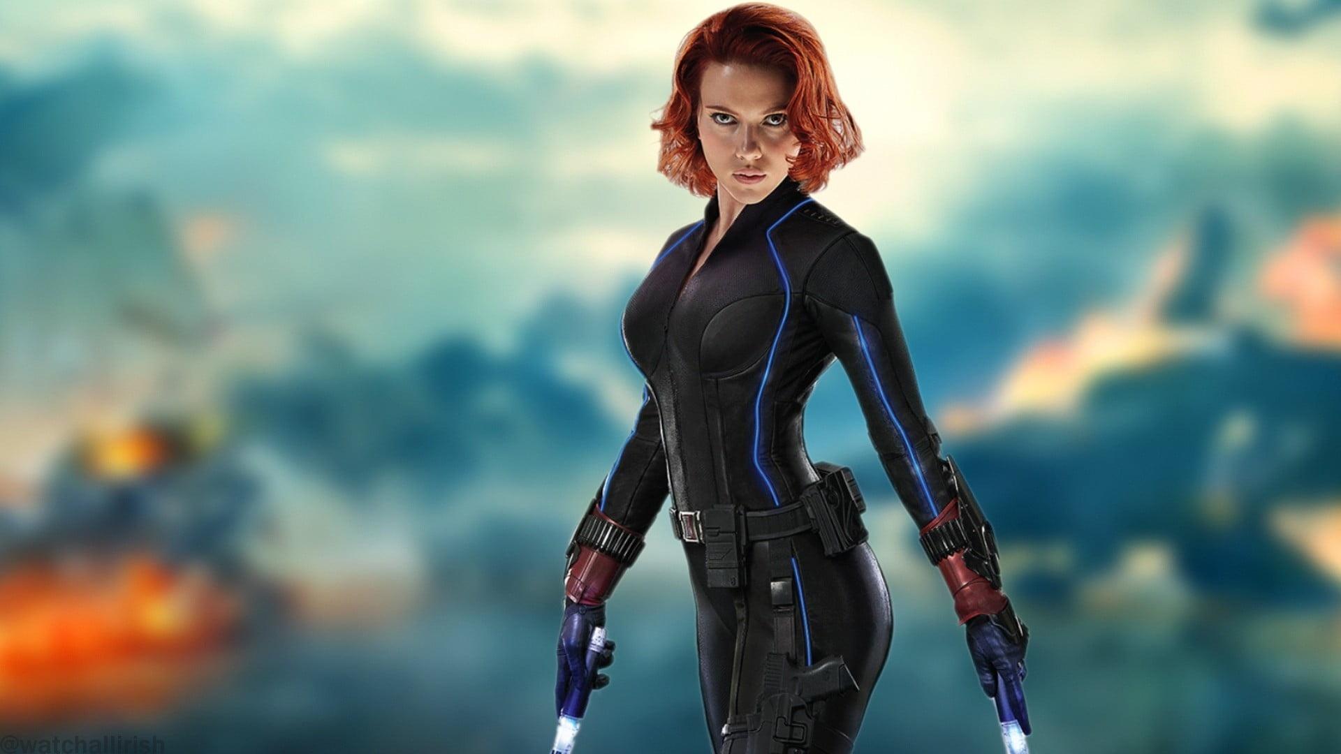 Black Widow desktop wallpaper