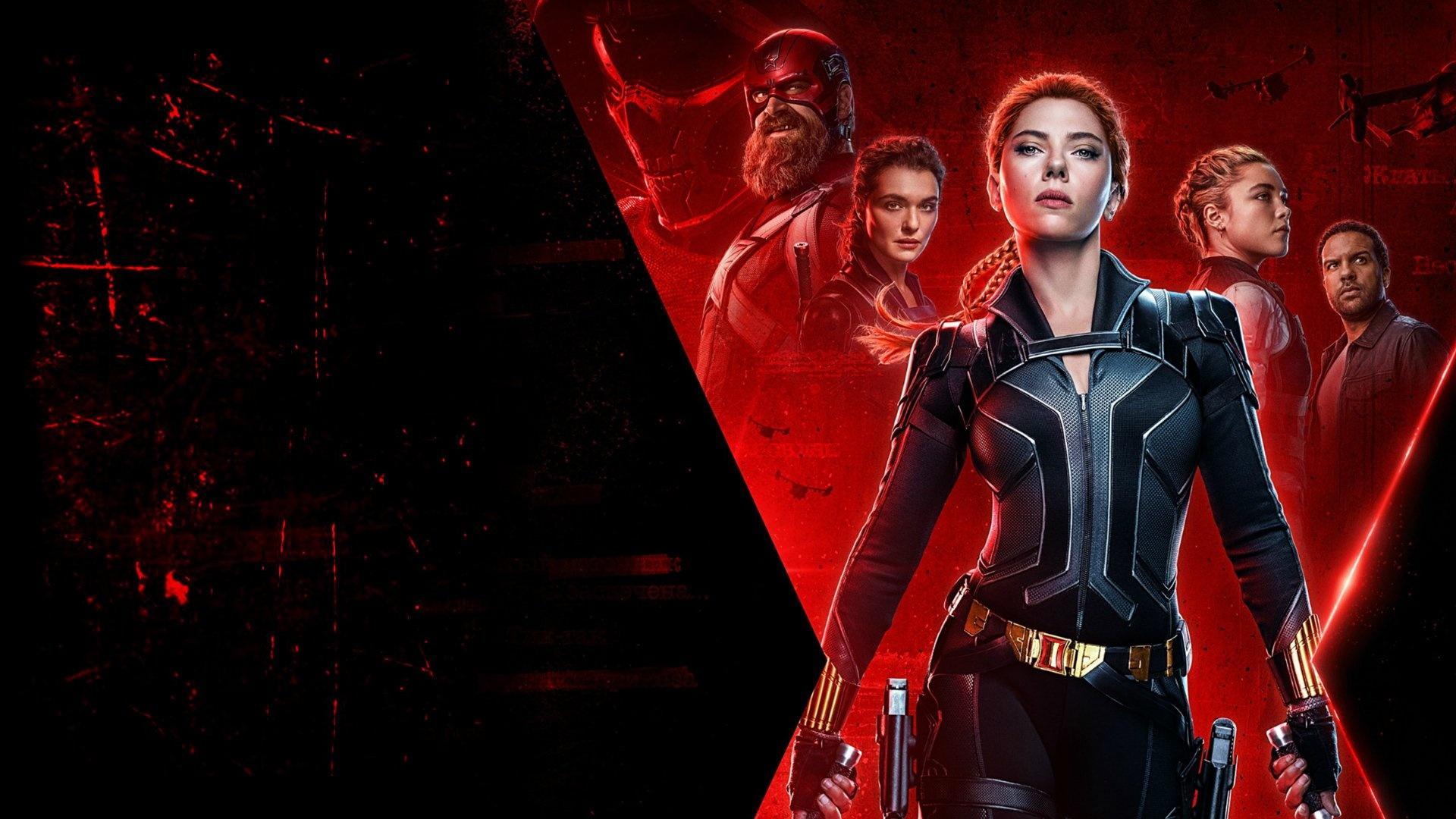 Black Widow computer background