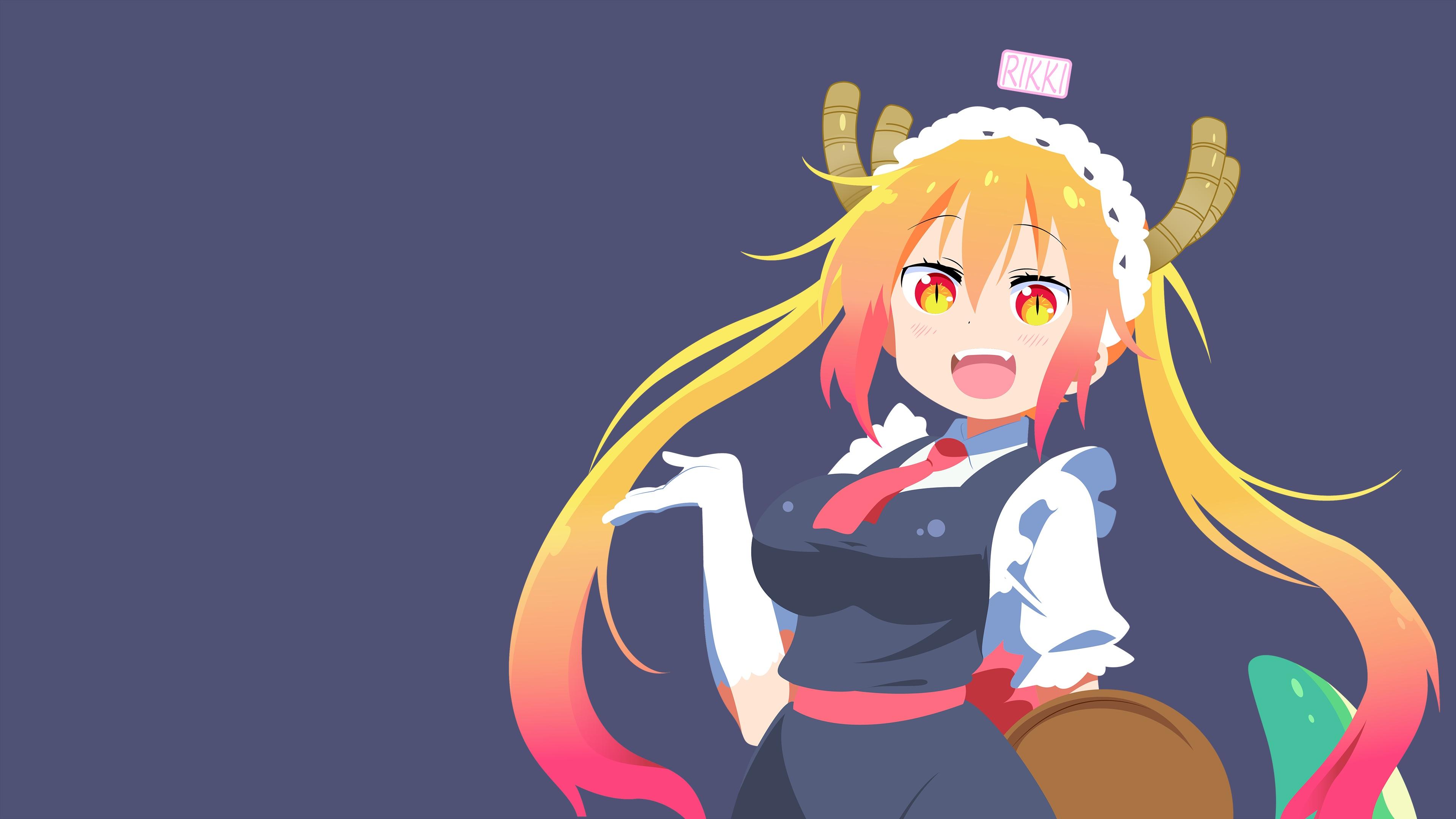 Anime Girl Smile desktop wallpaper free download