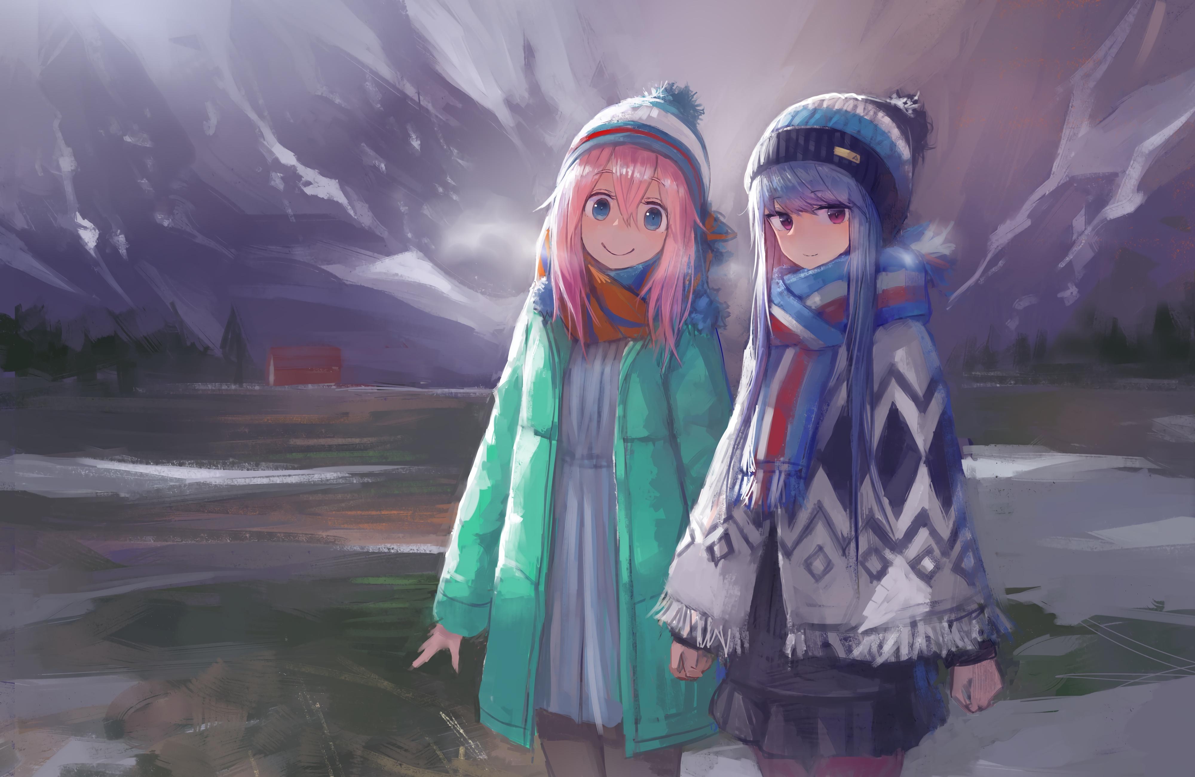 Anime Girl Smile cool wallpaper