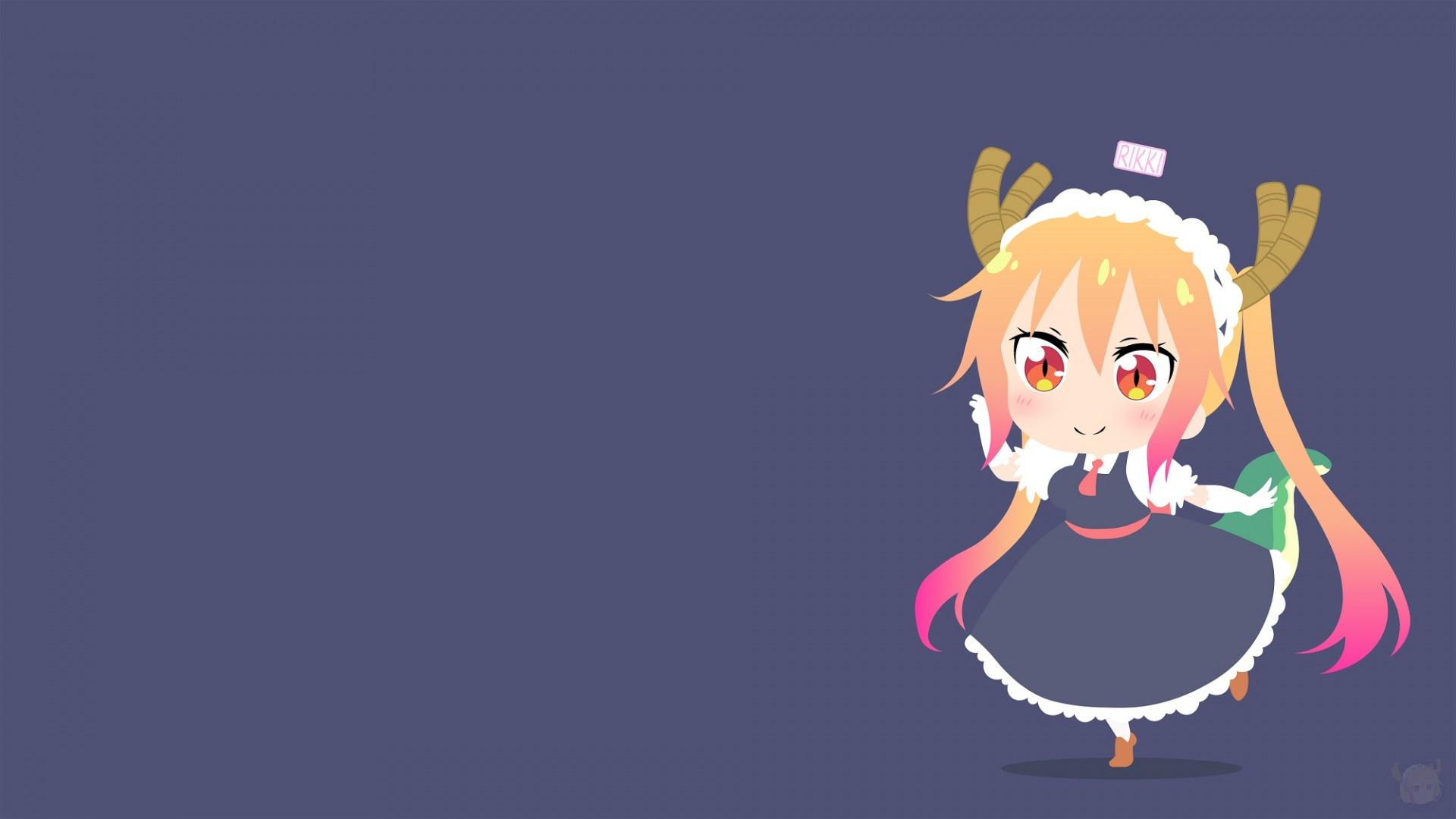 Anime Girl Smile background wallpaper