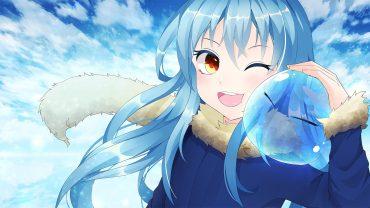 Anime Girl Smile wallpaper hd