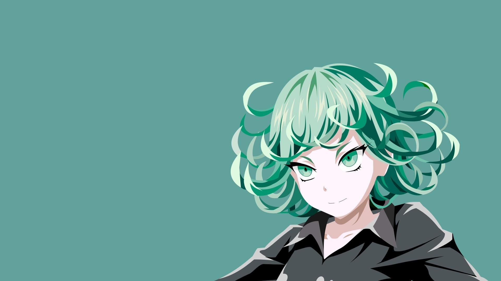 Anime Girl Smile free background