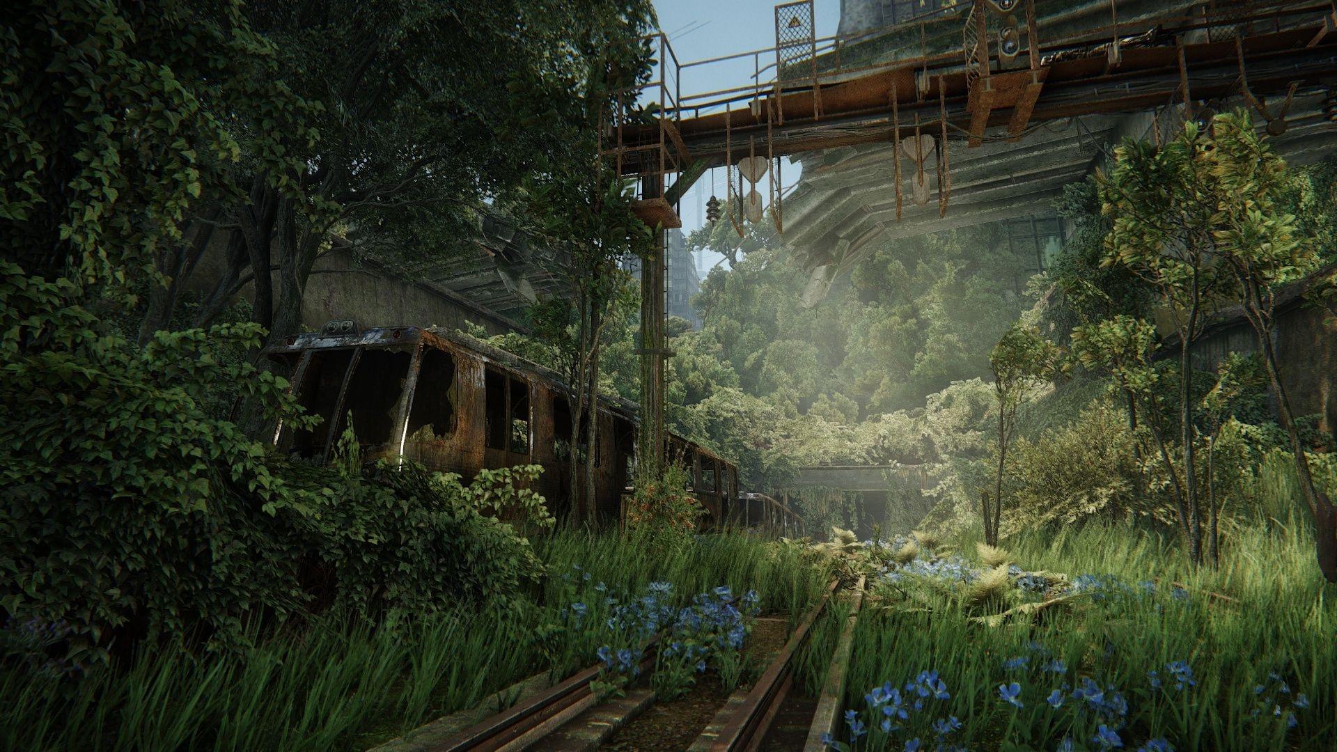 Post Apocalyptic Overgrown City free image