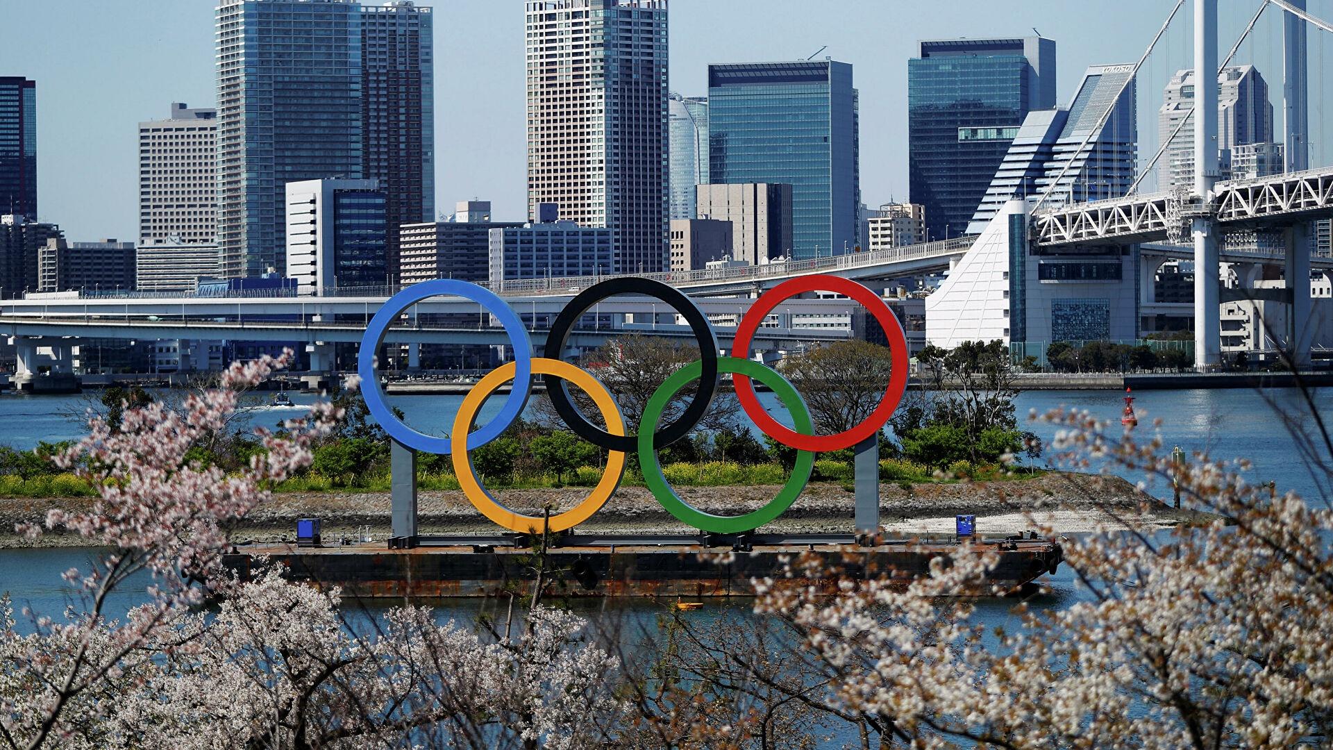 Tokyo 2020 Olympics desktop background