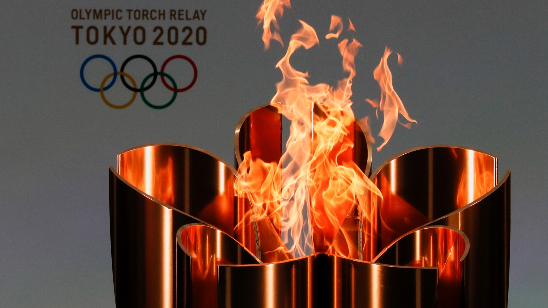 Olympics Tokyo Torch Problems desktop background
