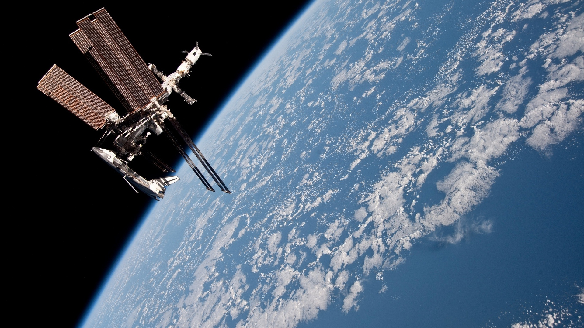 Space Station cool wallpaper