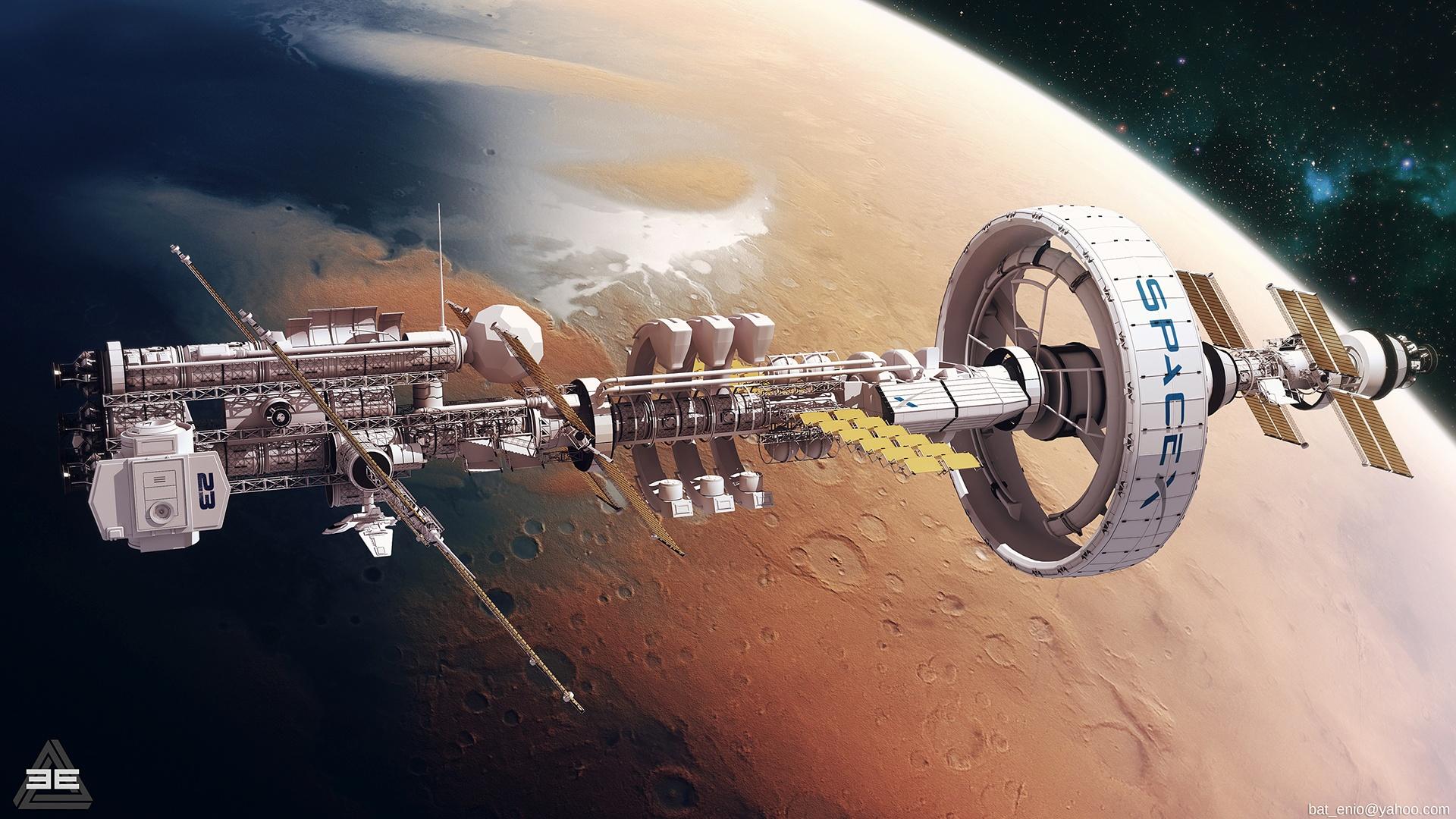 Space Station desktop wallpaper