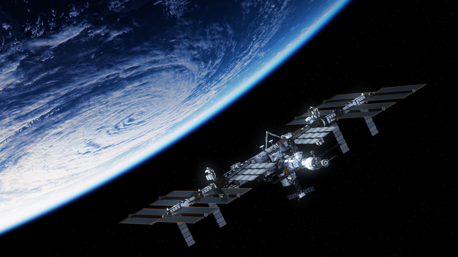 Space Station free wallpaper