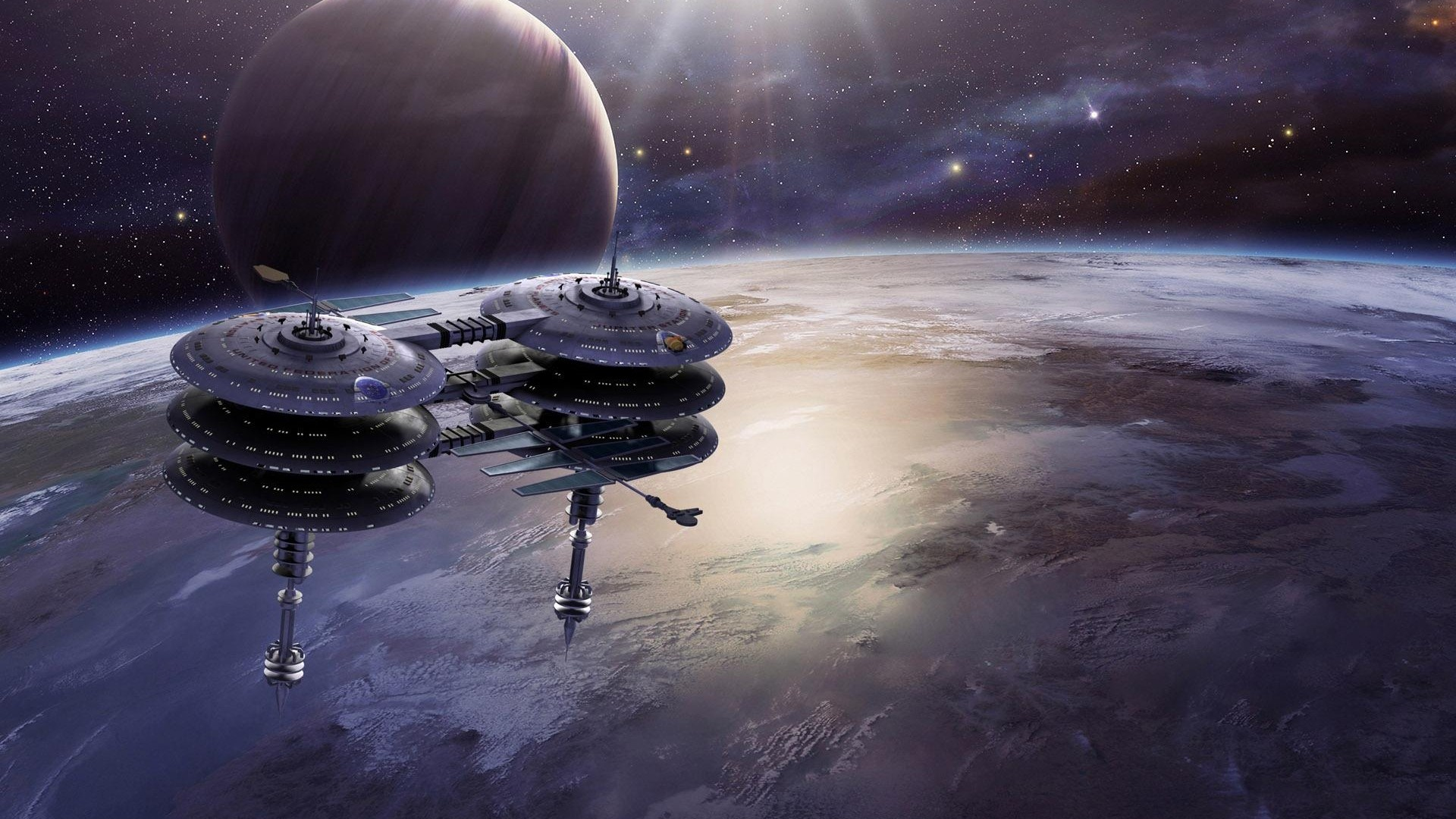 Space Station free pic