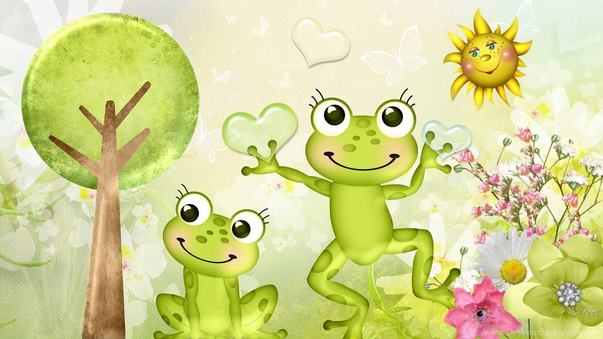 Cartoon Frog 1080p wallpaper