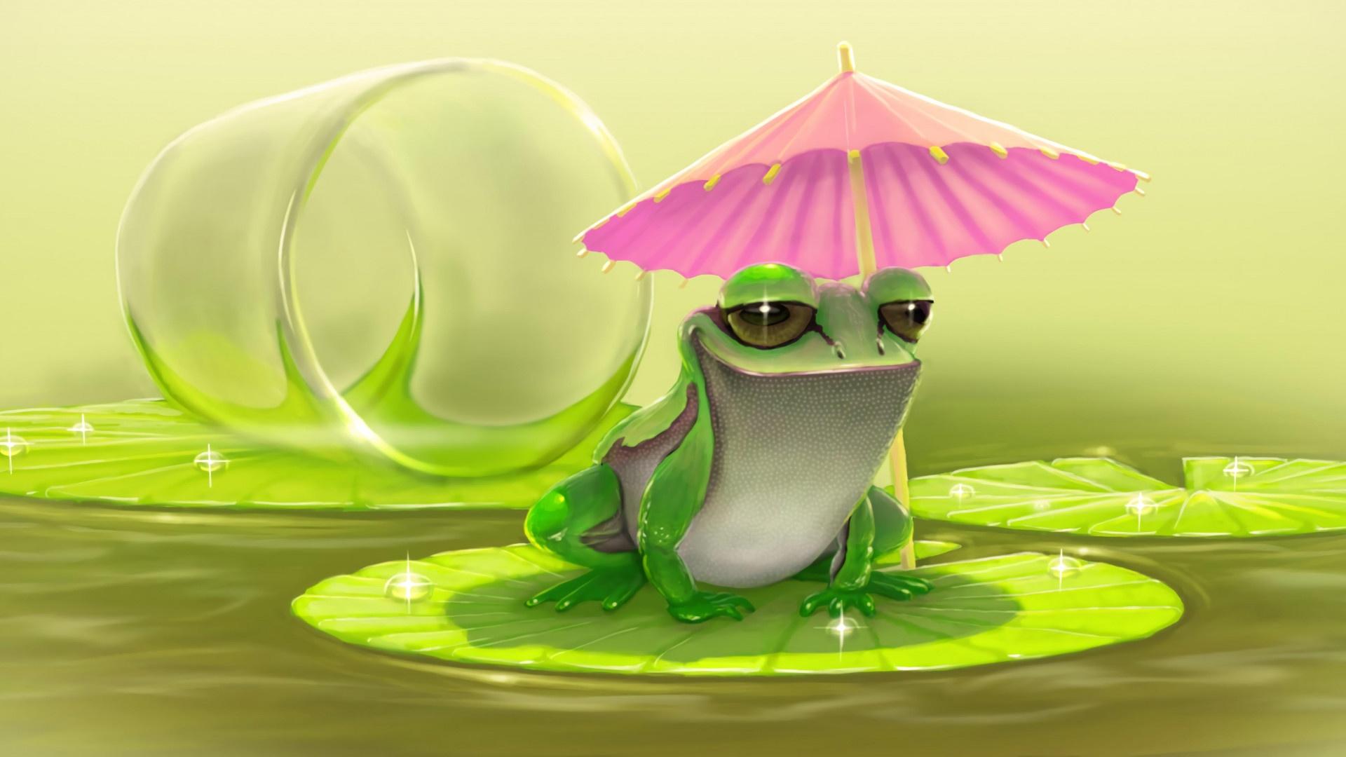 Cartoon Frog free pic