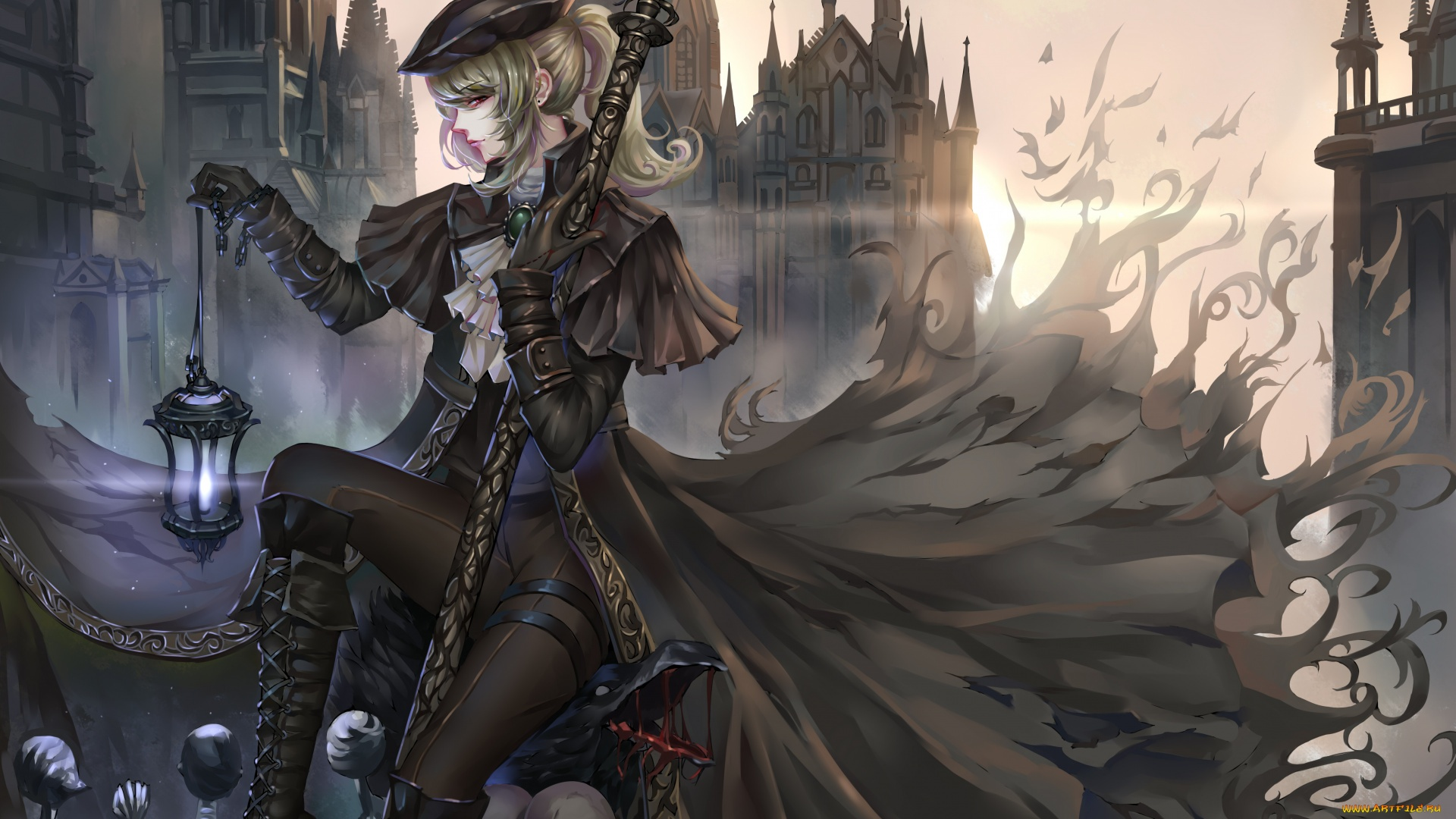 Anime Gothic Girl best picture