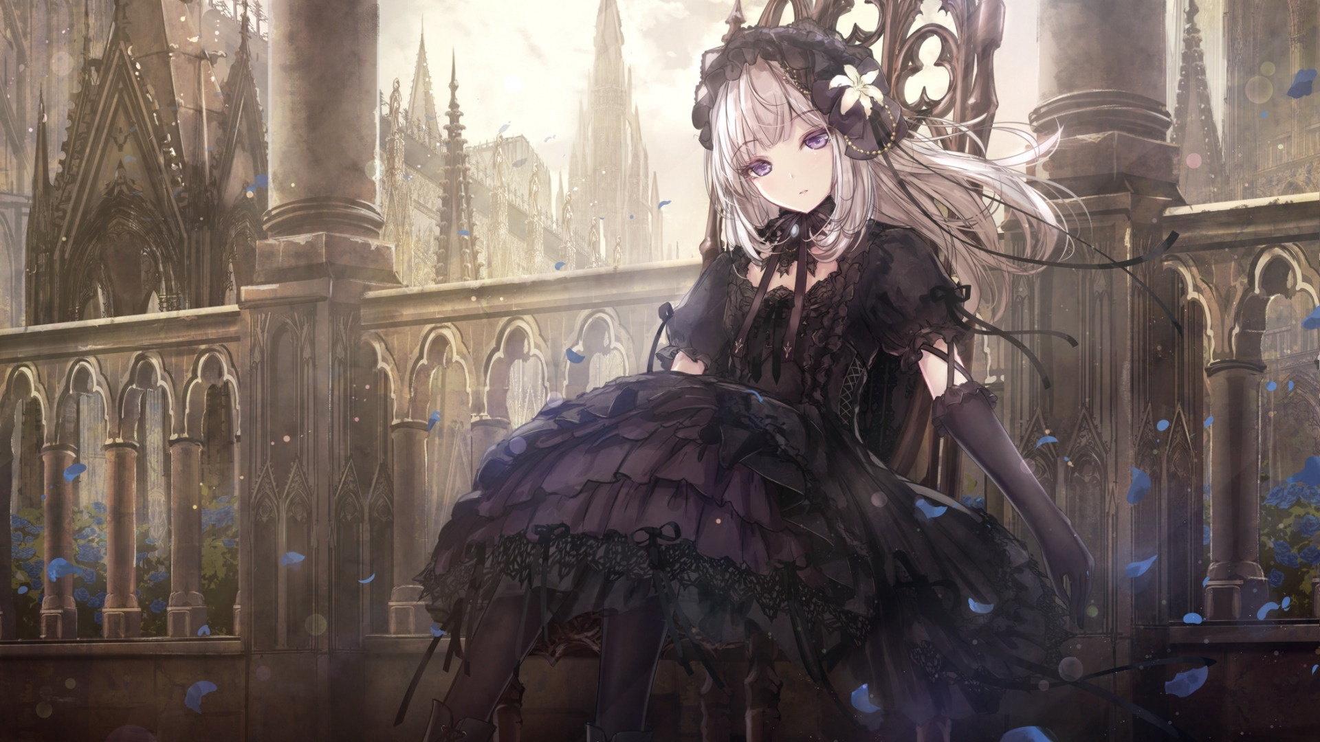 Anime Gothic Girl cool wallpaper