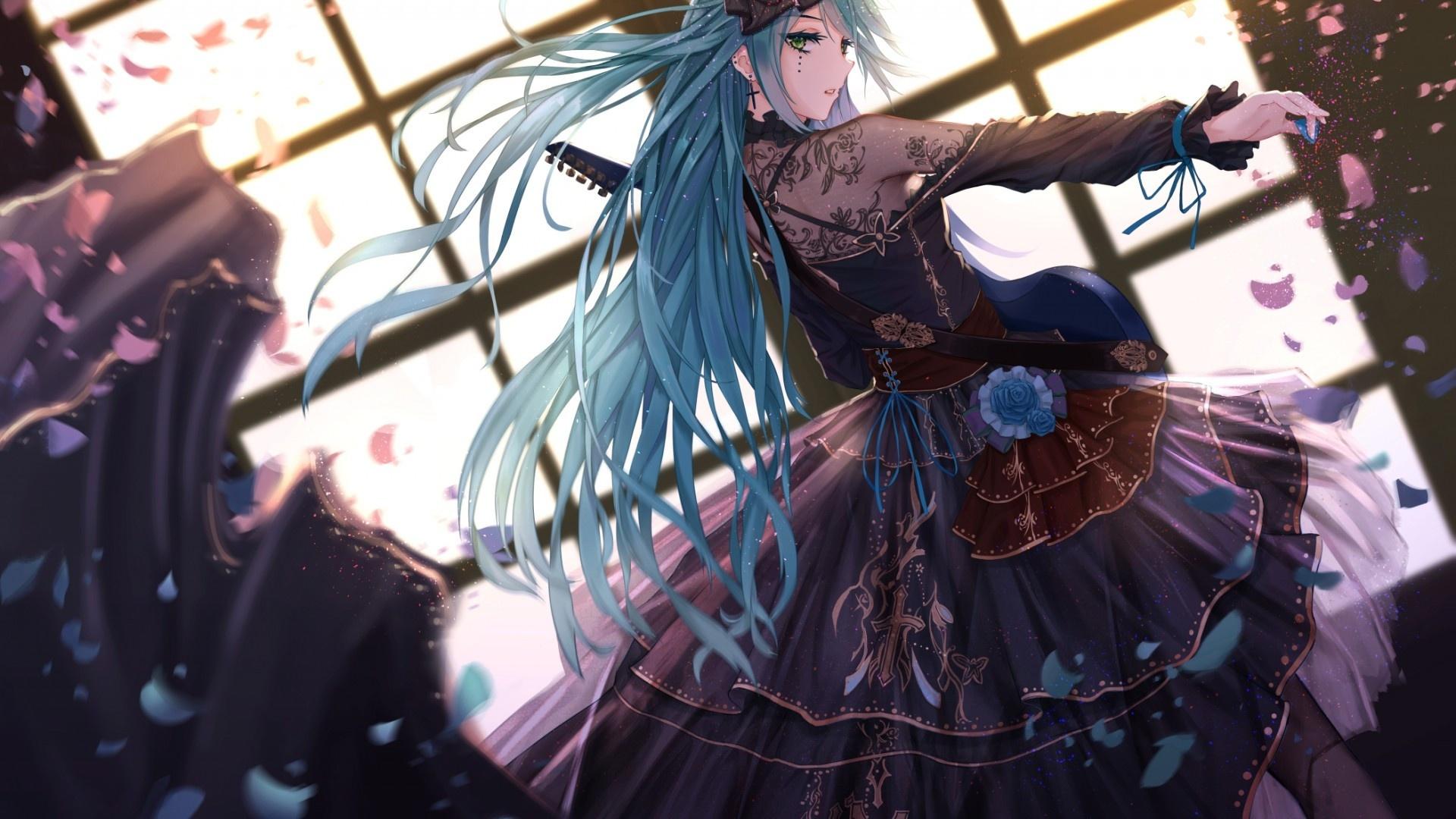 Anime Gothic Girl pc wallpaper