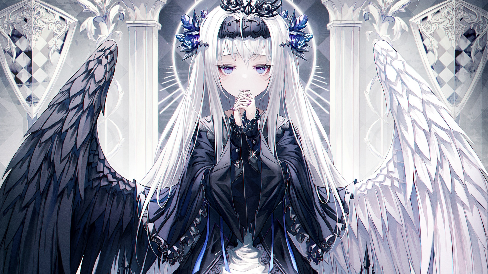 Anime Gothic Girl free picture