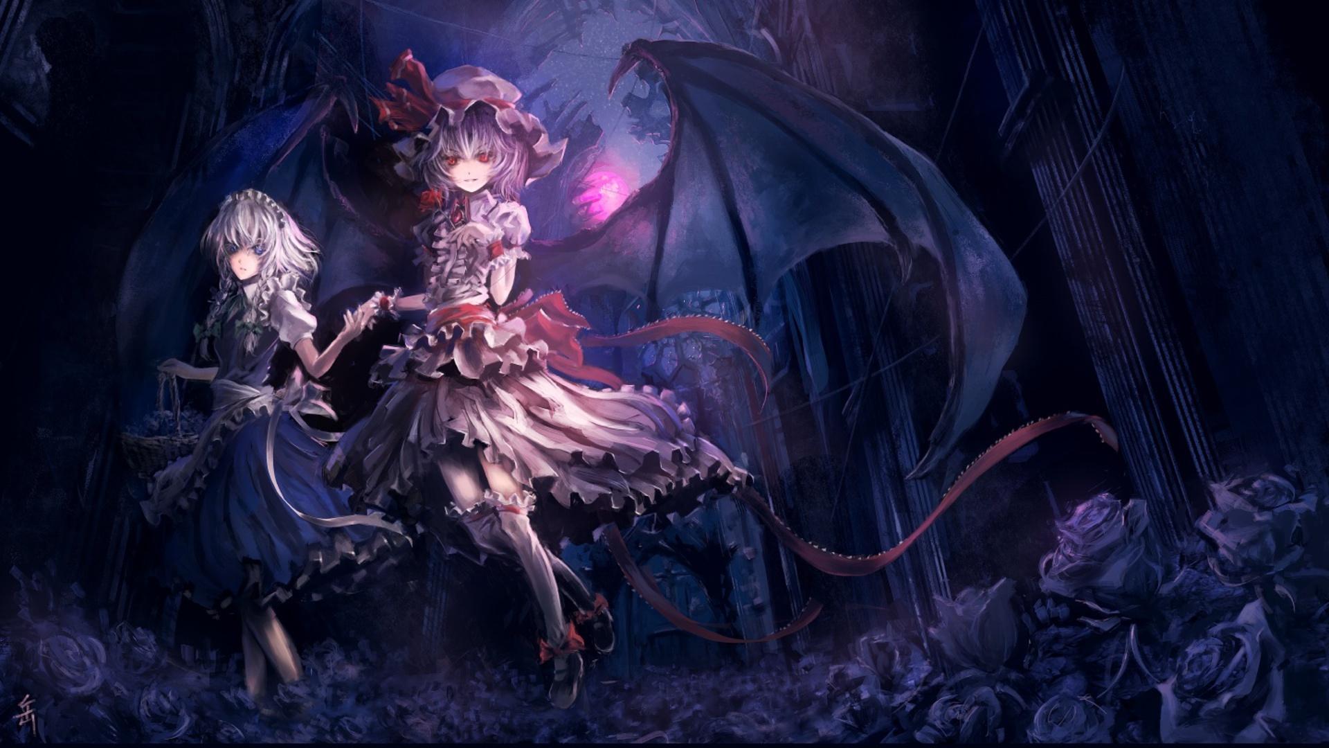 Anime Gothic Girl free photo