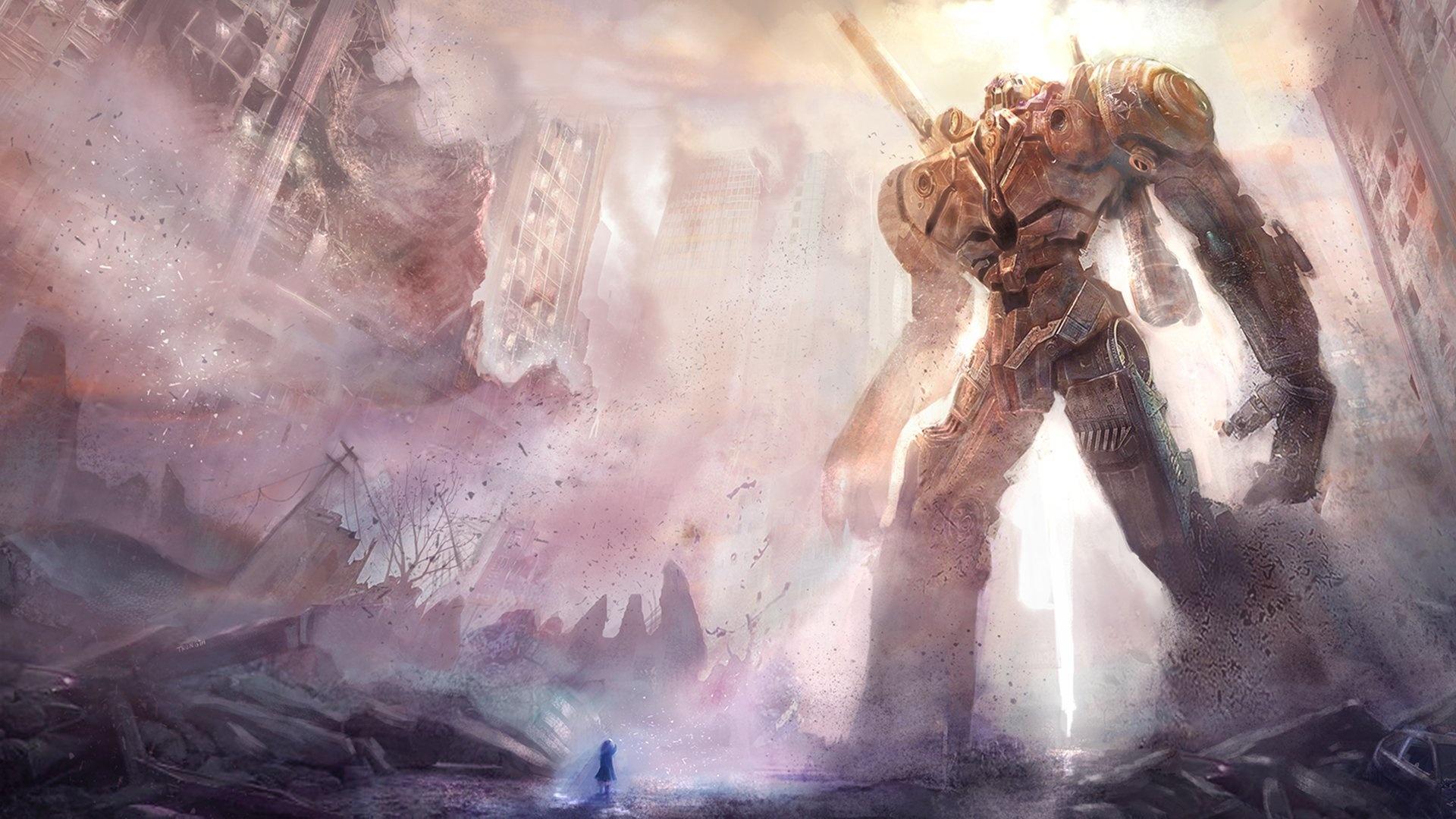 Giant Art free background
