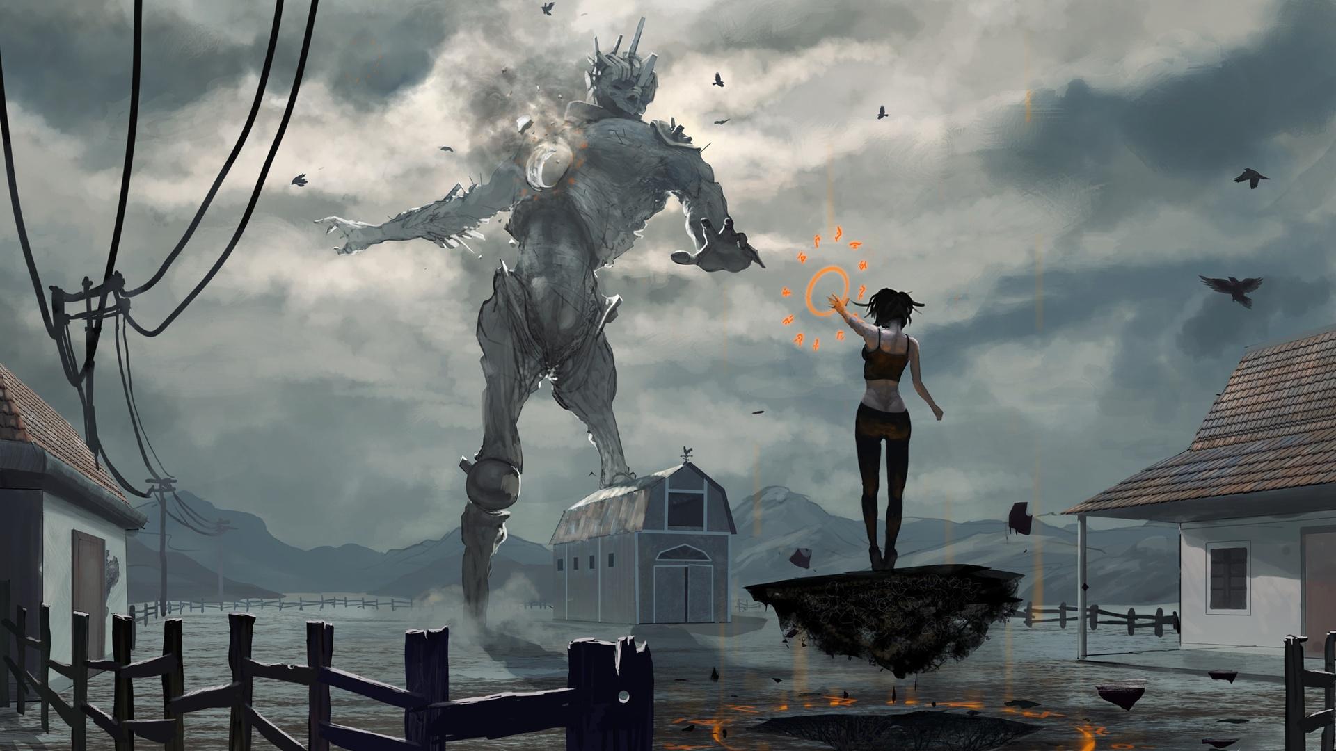 Giant Art 1080p wallpaper