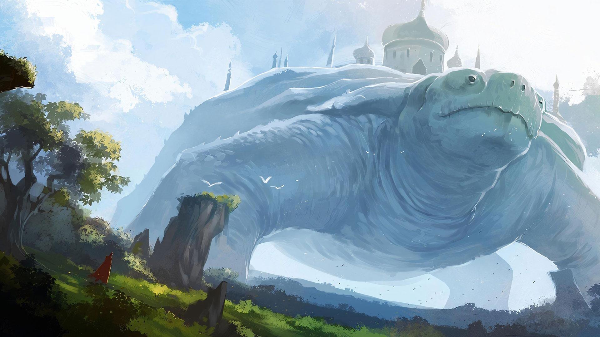 Giant Art hd background