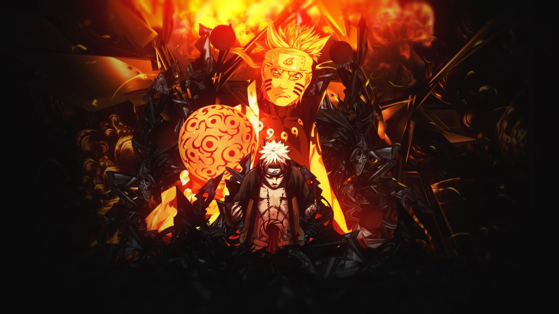 Naruto desktop background