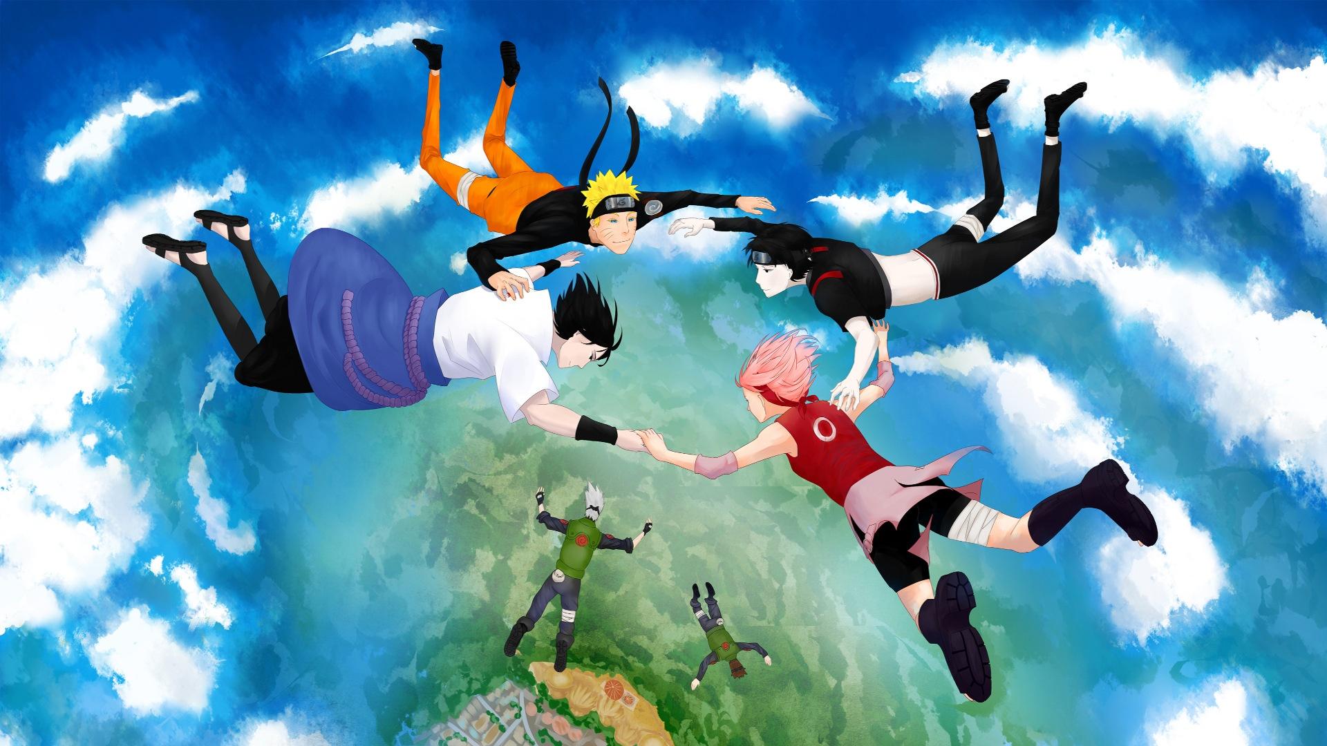 Naruto background wallpaper
