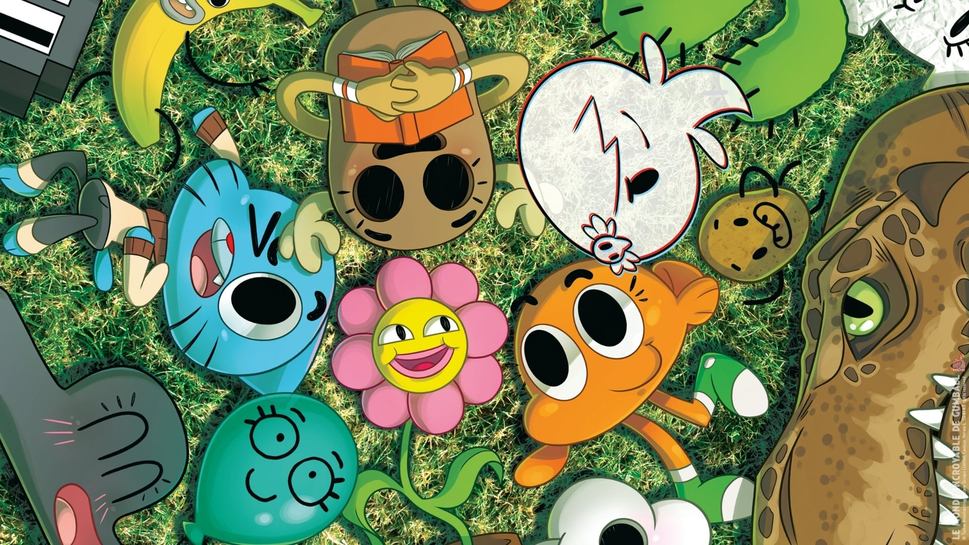 World Of Gumball cool background