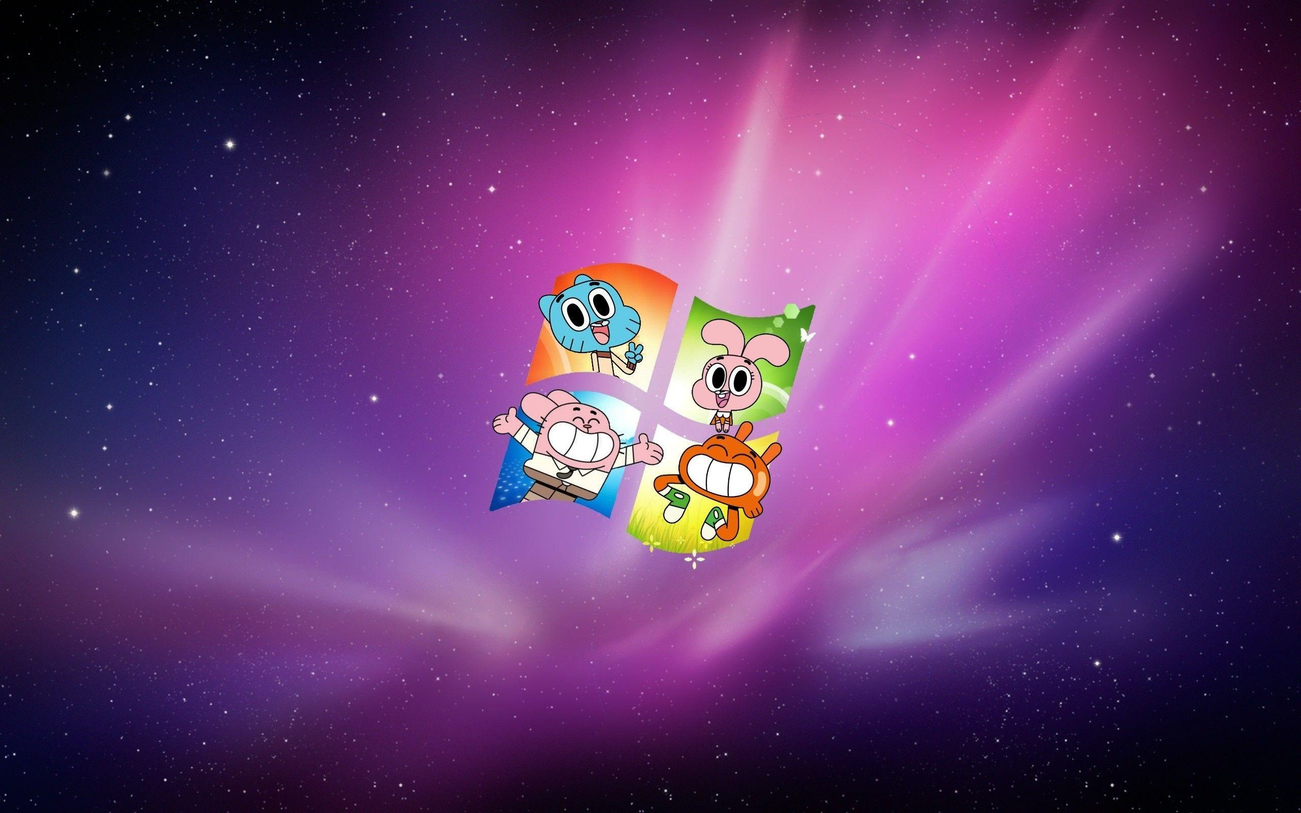 World Of Gumball computer background