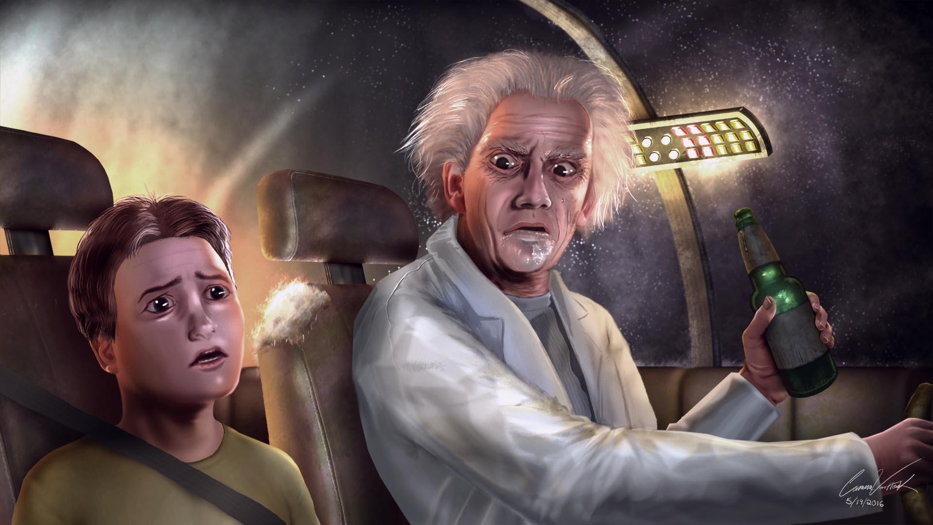 Rick And Morty Art pc wallpaper