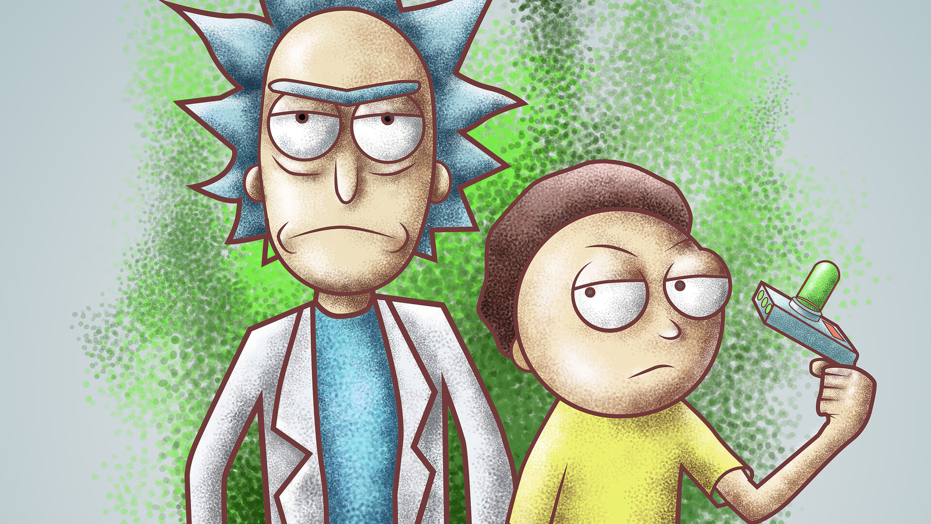 Rick And Morty Art free background