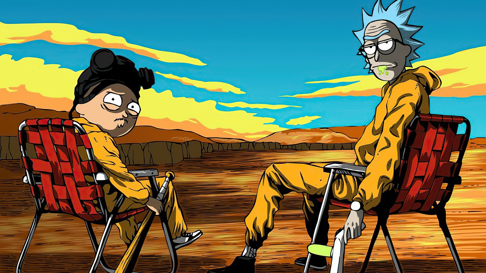 Rick And Morty Art free pic