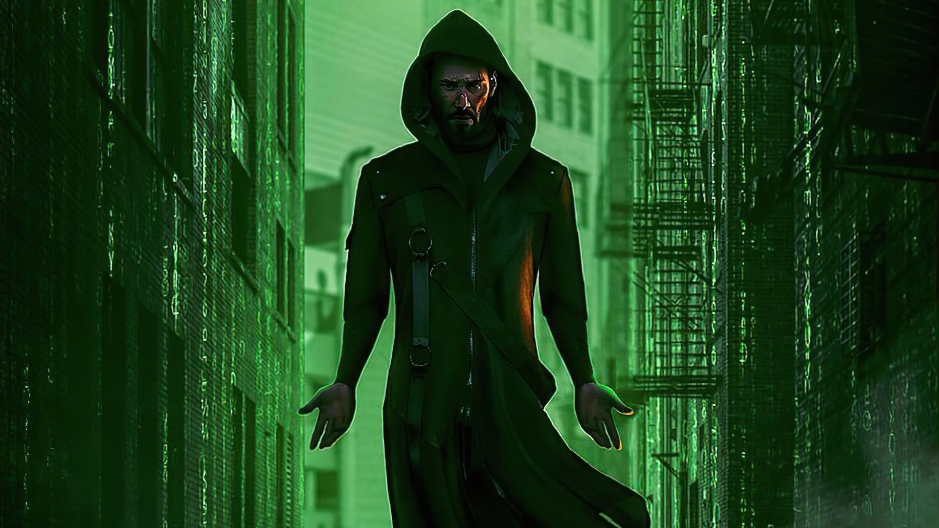 The Matrix 4 free wallpaper