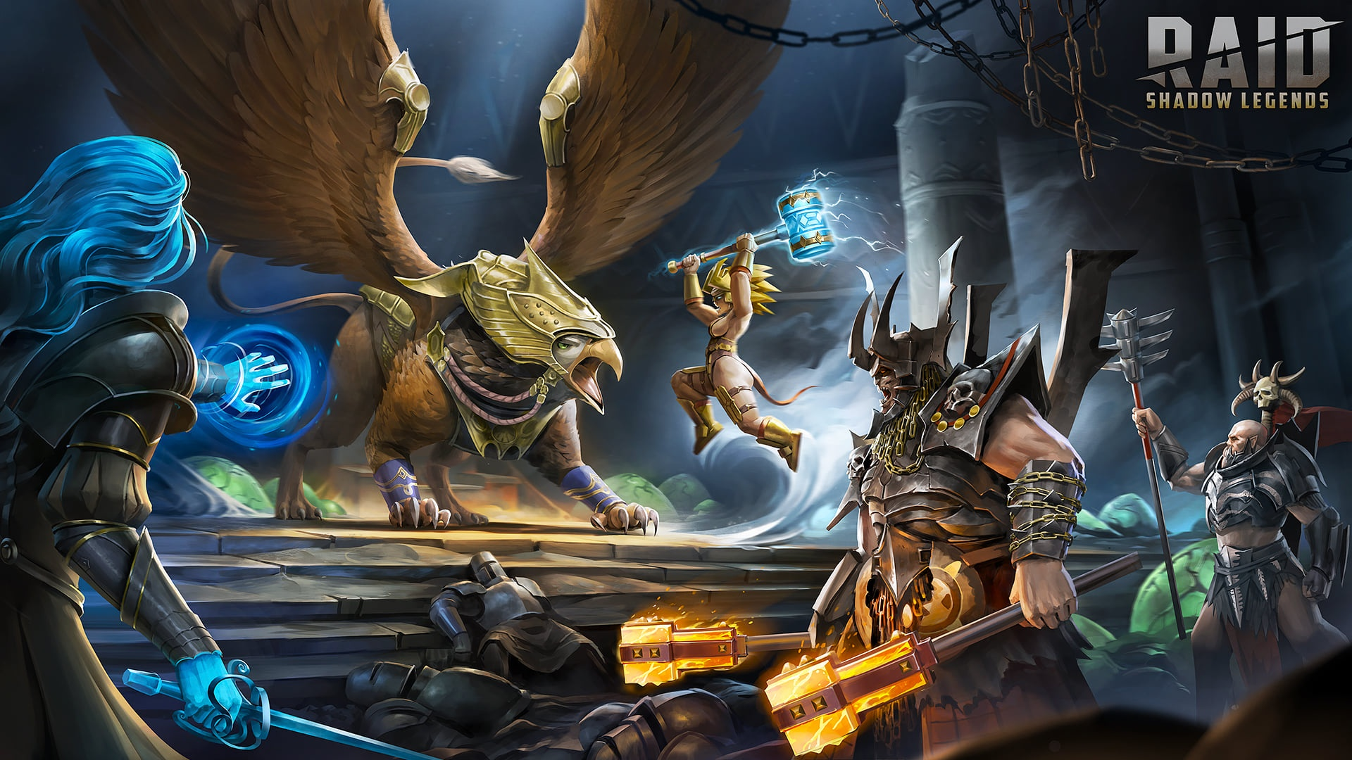 Raid Shadow Legends 1920x1080 wallpaper