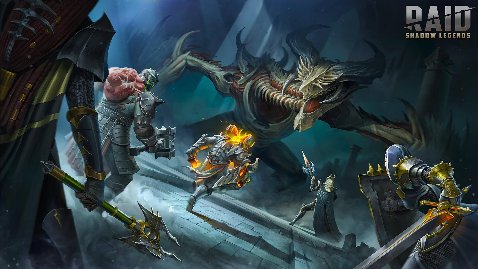 Raid Shadow Legends laptop wallpaper