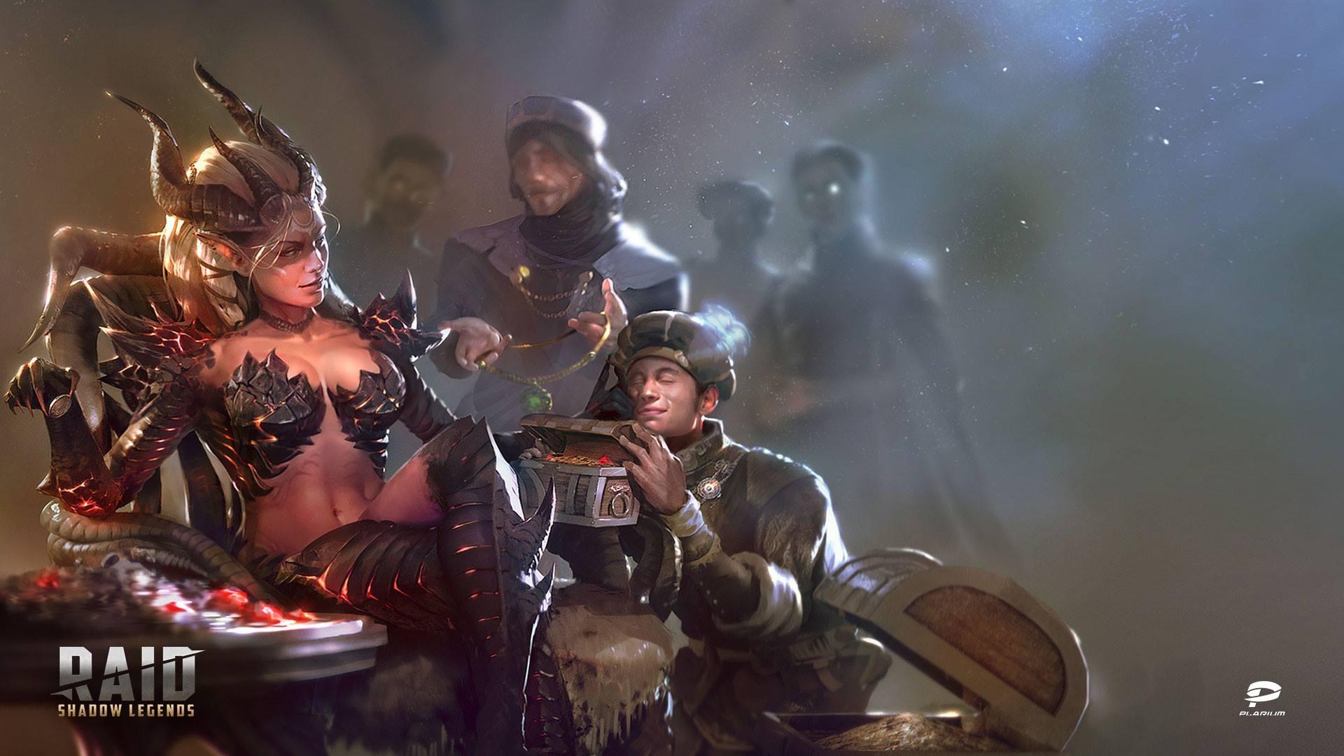 Raid Shadow Legends background wallpaper
