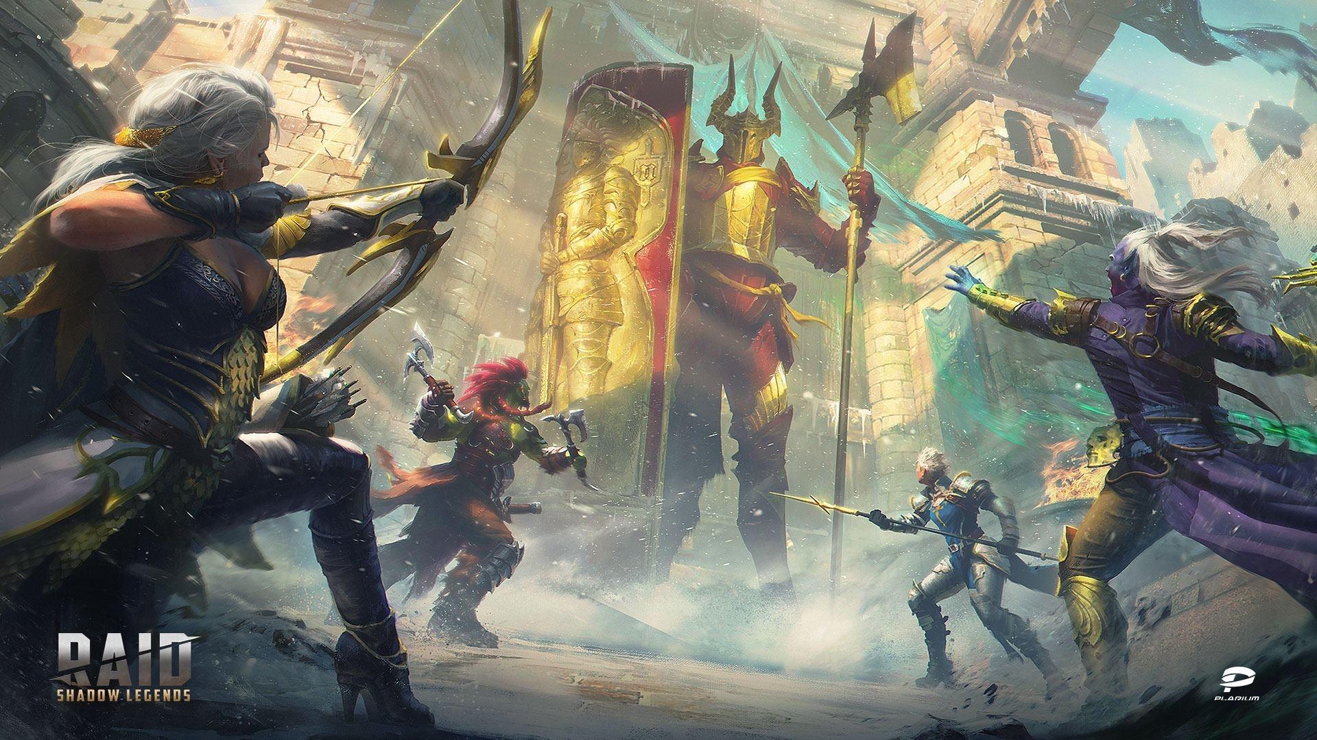 Raid Shadow Legends cool background