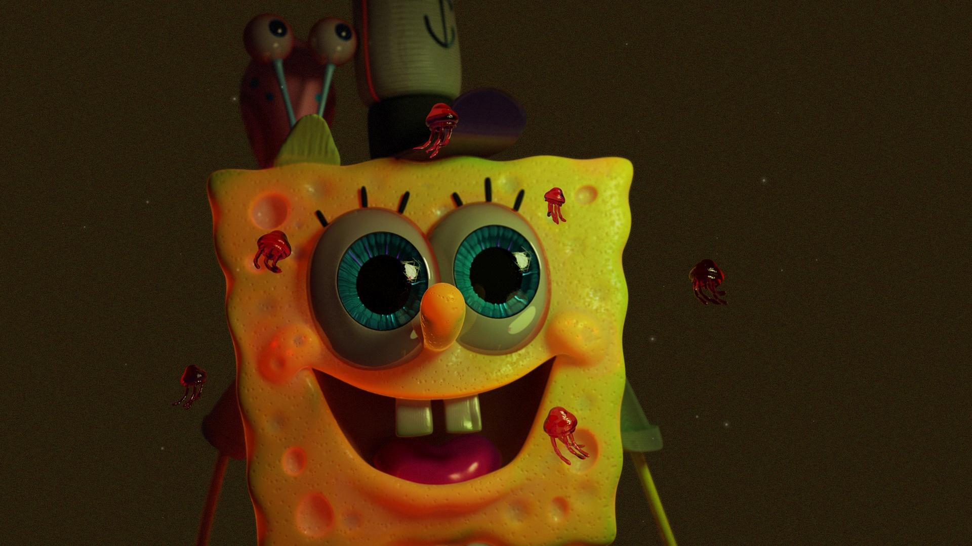 Sponge free background