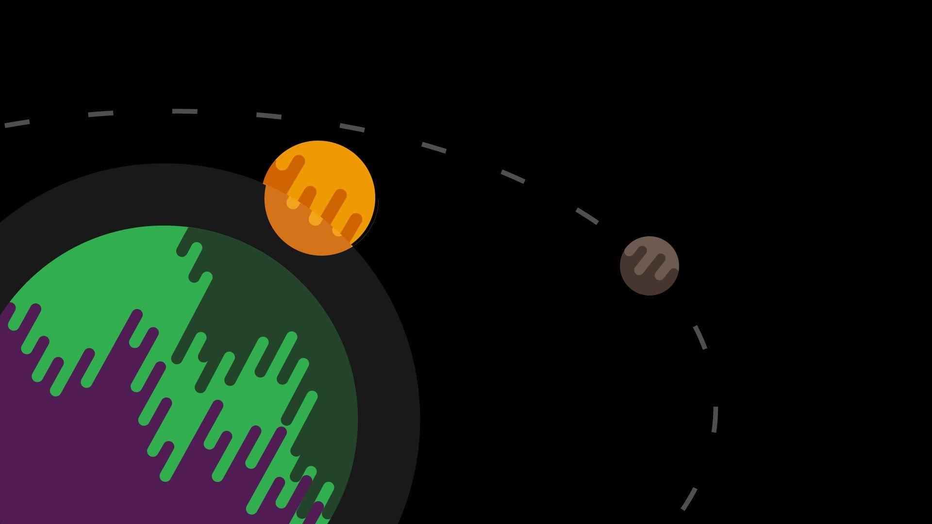 Drippy desktop background