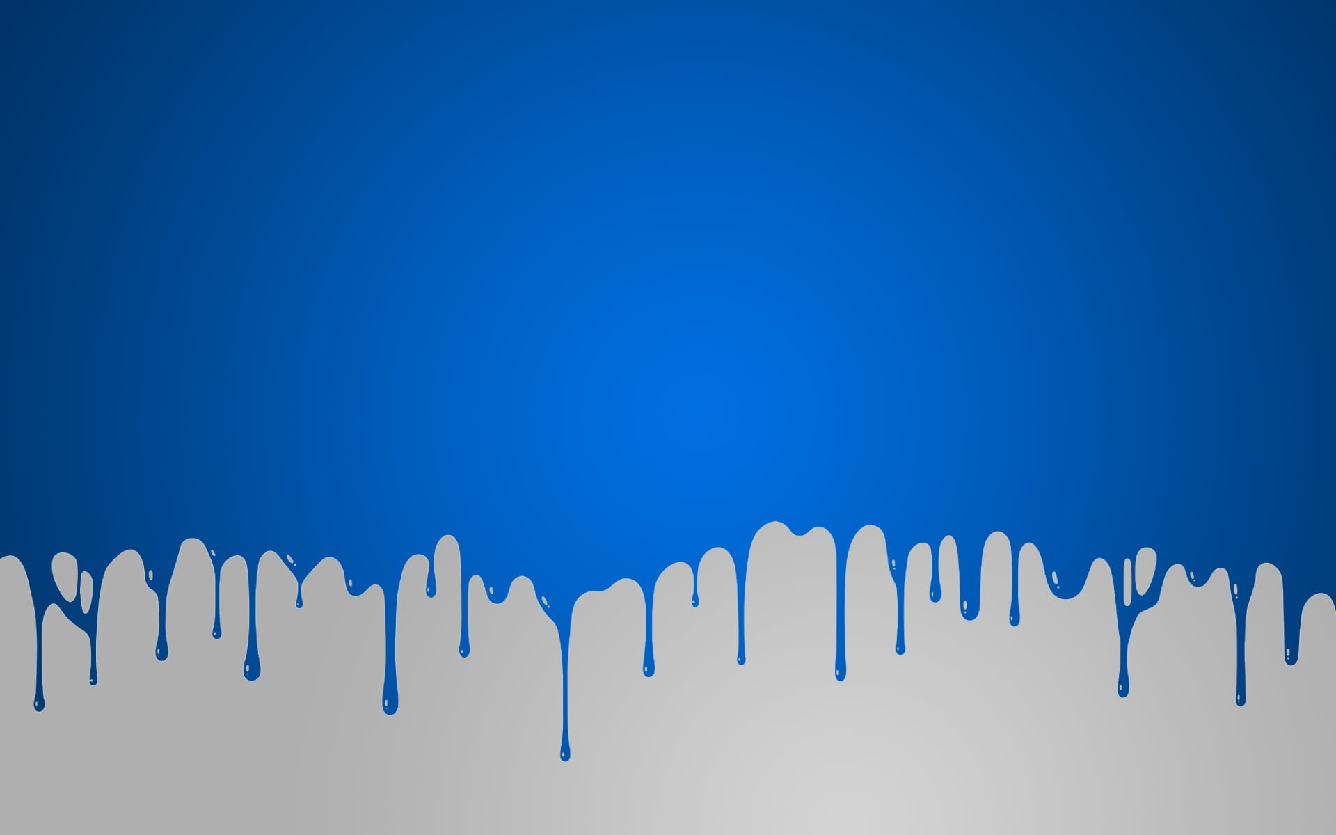 Blue Paint Drip Wallpaper Digital Art Solid Color HD .jpg desktop wallpaper free download