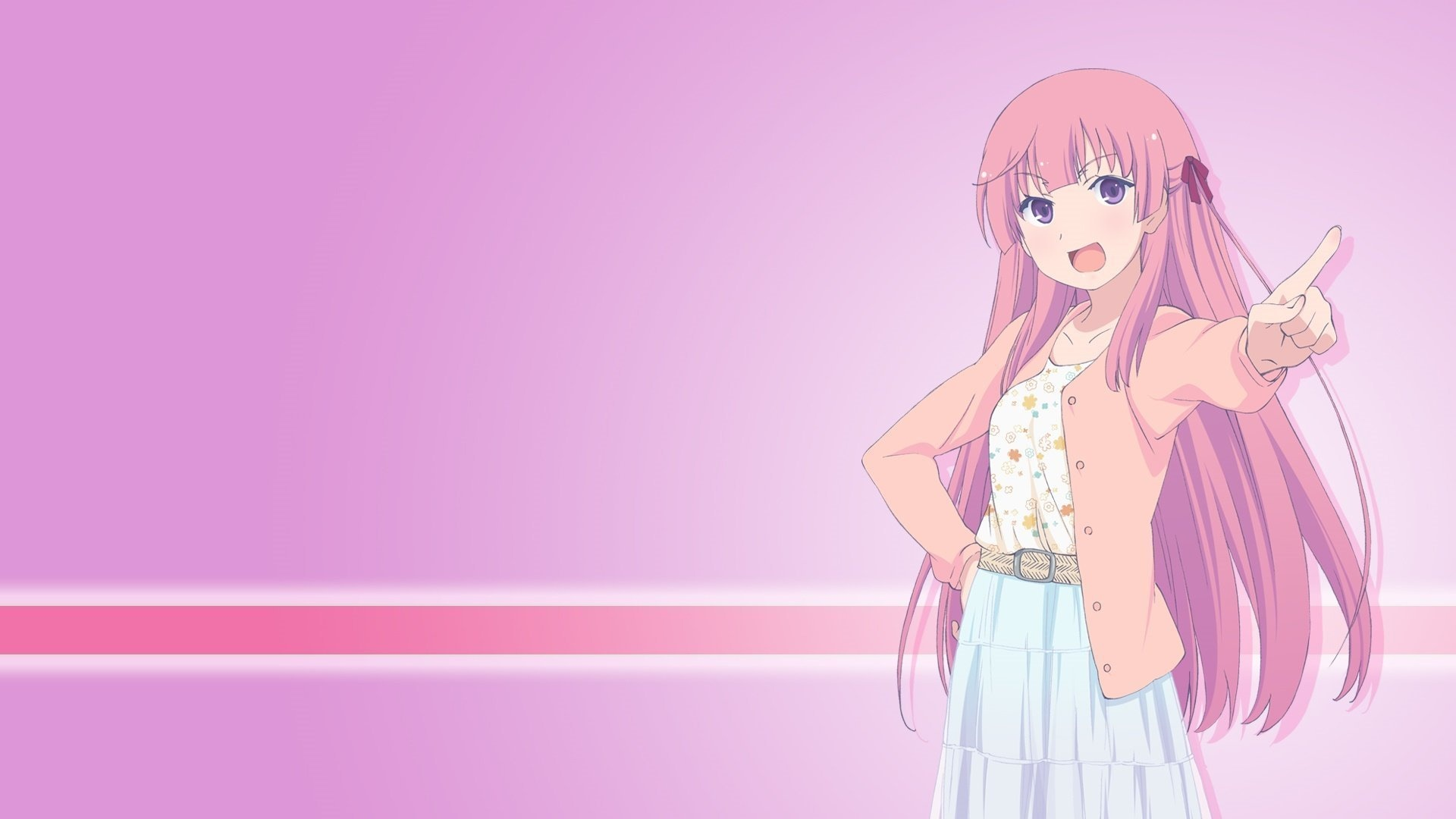 Anime Character windows background